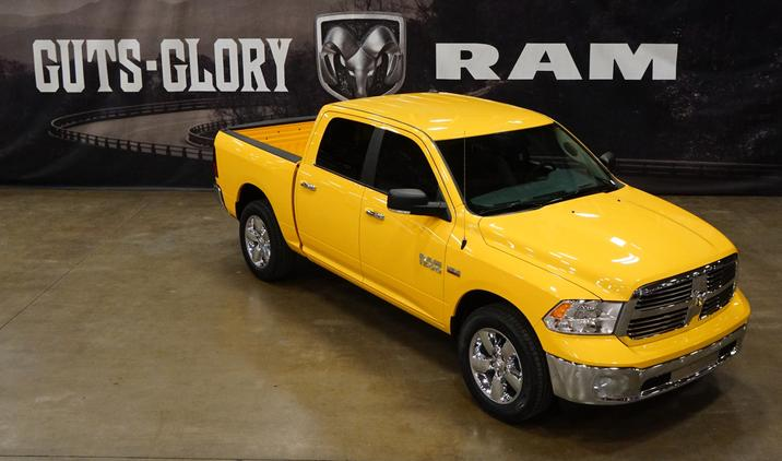 2016 Ram 1500 Yellow Rose of Texas